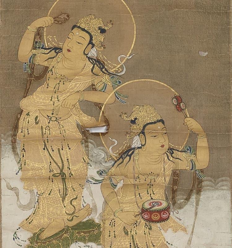 踊る菩薩たち