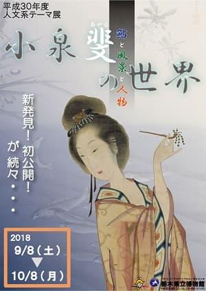 小泉斐の世界 -鮎と風景と人物-(栃木県立博物館)